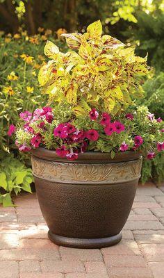 "Better Homes and Gardens Richmond 22.5"" Decorative Planter, Light Bronze #BHGMakeitFunEntry in"