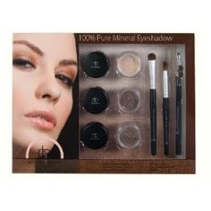 Naturale Beauty Mineral Eyeshadow Set, Basic Browns Edition, 0.06 Ounce $10.00