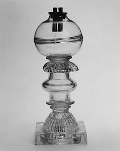 Whale Oil Lamp Probably designed by Thomas Cains c. 1813-30