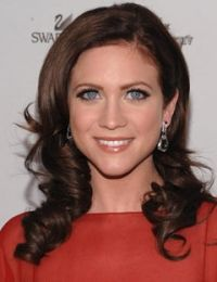 Brittany Snow could possibly be a good Anastasia Steele with this brown hair, or a good Katherine Kavanagh with her blonde hair..  #fiftyshadesofgrey