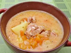 Hungarian Recipes, Turkish Recipes, Soup Recipes, Cooking Recipes, Goulash, Soups And Stews, Cheeseburger Chowder, Clean Eating, Food And Drink