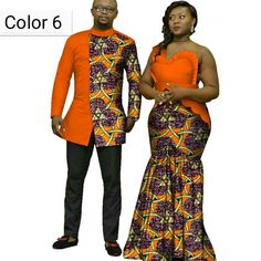 African couple Cotton clothing African ethnic wax printing Skirt and Men& Shirt image 6 Couples African Outfits, African Fashion Dresses, African Attire, African Men, Modern African Clothing, Traditional African Clothing, Ankara Long Gown Styles, Dashiki Shirt, Africa Fashion