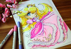 Princess Peach by Lighane on @DeviantArt