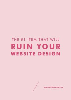 Hiring a professional website designer won't prevent your website from this major mistake. Learn how photography can ruin your website design and why your website images are so important.