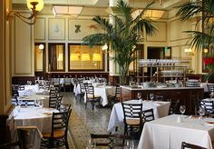 Bouchon Beverly Hills. Beautiful Bistro design.