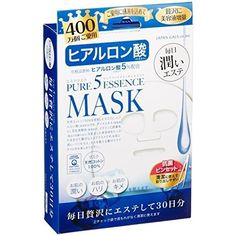 NEW Japan Gals Gals Pure 5 Essence Hyaluronic Acid Maintain Elasticity Mask