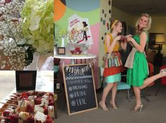 50's housewife bridal shower [kind of love this idea for a bridal shower!] it reminds me of mad men :)