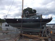Historic Yacht for sale | Sail Boats | Gumtree Australia Glenorchy Area - Derwent Park | 1088472922