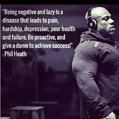 If our man Phil Heath can't get you motivated, no-one can!