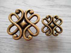 Dekorative Kommode Schublade Knöpfe zieht Griffe von ARoseRambling