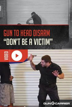 VIDEO: How To Disarm A Gun Held to Your Head - Handgun Disarming Techniques | Survival Skills and Self Defense Ideas and Tips by Gun Carrier at http://guncarrier.com/video-how-to-disarm-a-gun-held-to-your-head-handgun-disarming-techniques/