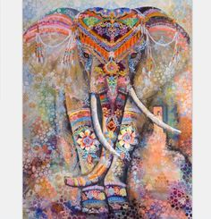 Polyester Wall Tapestry Indian Elephant Tapestryr #elephant #tapestry #textileart #walldecoration #hippie #inspiration #decorative #interior #off #usa #flooring #office #home #decoration #bedroom #livingroom #diy #handmade #best #modern #design #bohemian #beautiful #wallhanging #Colorful