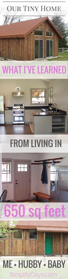 What I've Learned from Living in 650 Square Feet with my Husband and Baby. // SimplifyDays.com