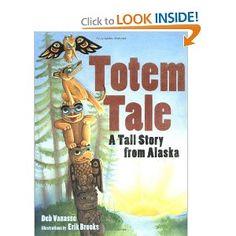 Collaboration Cuties: Totem Tale- A Native American Tall Tale - Vivid Verbs & Onomatopoeia