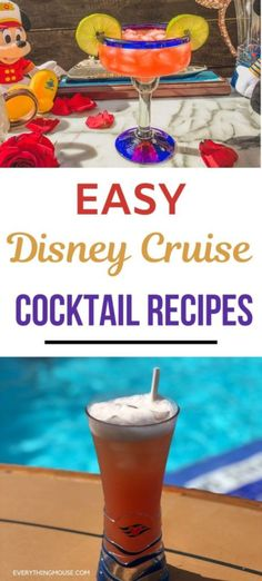 Bring the magic home with these Disney Cruise Cocktail copycat recipes you can enjoy with family and friends. Easy to make and simple to enjoy, including the Disney Cruise Castaway Cay Konk Kooler. Disney Alcoholic Drinks, Disney Cocktails, Disney Wonder Cruise, Disney Cruise Ships, Disney Food, Disney Recipes, Cocktail Recipes At Home, Drinks Alcohol Recipes, Drink Recipes