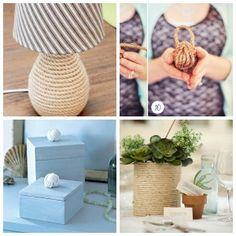 Macetas forradas, encuentra el paso a paso para crear este DIY aquí http://www.1001consejos.com/diy-para-el-hogar/