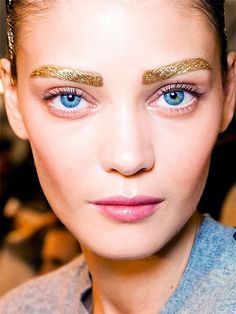Dior Spring/Summer 2014 Runway Makeup trend... More inspiration at Valencia Bed Breakfast: http://www.valenciamindfulnessretreat.org