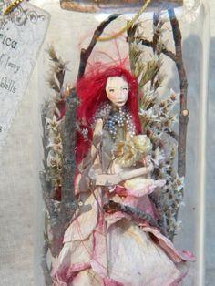 Queen Fairy of Spring Captured Woodland by littlefolkoffaery