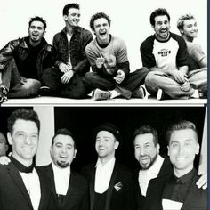NSYNC; then & now