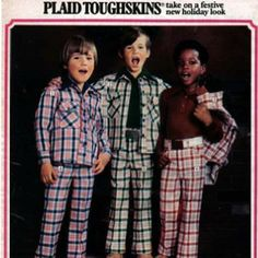 70's Clothing Ad. I wish you were still a chubby little baby so I could dress you up like this.