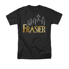 Frasier Logo CBS TV Show T-Shirt Tee #Frasier #GraphicTee