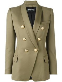 Love this by BALMAIN Double Breasted Blazer - $1595