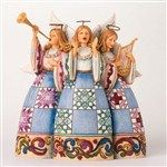 Choirs Of Angels Rejoice-Triple Angel Figurine