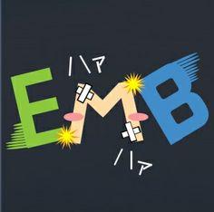 E「ドM」B エンブレム #sakura_sdf