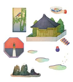 editorial illustrations 2015: Whooli Chen on Behance