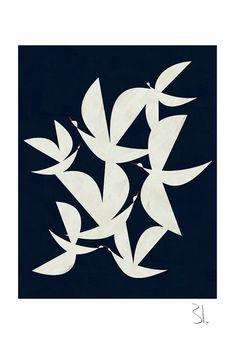 Flying In The Dark Art Print | Blancucha on Etsy