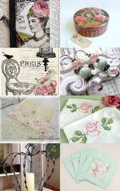 --Pinned with TreasuryPin.com  Oh La La.. French Roses Treasury, enjoy - Jenny