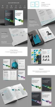 Creative business brochure template indd brochures pinterest 20 best indesign brochure templates for creative business marketing accmission Images