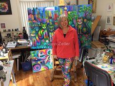 Me in my leggings by Karin Zeller