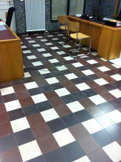 Cement tile - Carreau en ciment: Unitile 15x15 pattern (arch. Noa)  David&Goliath.eu