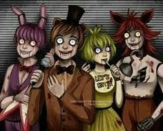Five nigths at freddy's anime