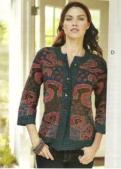 e894054dfbe Shop Women s Art Knit Cardigans   Sweaters Knit in Spring   Summer Weight  Peruvian Alpaca or Pima Cotton.