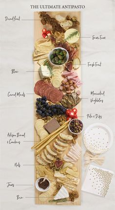 How To Build The Ultimate Antipasto Spread The perfect antipasto platter!<br> Build The Ultimate Antipasto Spread Hosting a party can be a lot of work. Well, we are here to help! Our guide to building the ultimate antipasto spread will i. Antipasti Platter, Snack Platter, Antipasta Platter Ideas, Antipasti Board, Plateau Charcuterie, Charcuterie And Cheese Board, Charcuterie Spread, Party Food Platters, Cheese Platters
