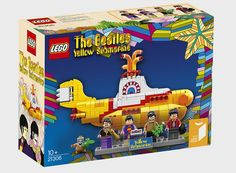 All Together Now: Let's Get Excited for LEGO's Yellow Submarine Set — Design News