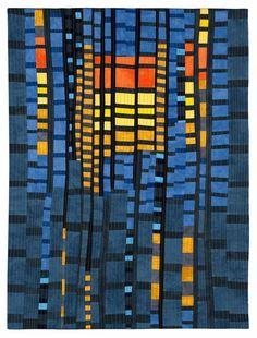 Burning the Midnight Oil by Valerie Maser-Flanagan Fiber Artist