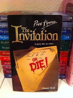Point Horror fave The Invitation by Diane Hoh.