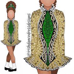 Celtic Mythology, Triple Goddess, Dress Sketches, Irish Dance, Linocut Prints, Dance Moms, Dance Dresses, Designer Dresses, Dancing