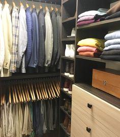 Organized Mens Closet, NEAT Denver, NEAT Denver closet, closet organization, mens suit organization