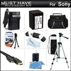Must Have Accessory Kit For Sony HDR-...  Order at http://www.amazon.com/Accessory-HDR-PJ260V-HDR-PJ200-Camcorder-Replacement/dp/B0073IMQYK/ref=zg_bs_172421_93?tag=bestmacros-20