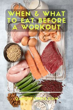 Nutrition is every bit as important (if not more so) than exercise when it comes to getting fit. Here we look at what to eat before a workout - QandA Fitness - #fitness #PreWorkout #HealthyEating