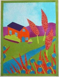 Art Quilts by Laura Wasilowski