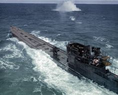 Type-9D2 / U-848: Laid down in Bremen & completed in Feb. 1943, this was a long-range boat with four bow and two stern torpedo tubes. Commanded throughout her brief service life by Korvettenkapitän Wilhelm Rollmann, who led her onto her first war patrol on 18 September 1943. She sank the British steamship Baron Semple (4,573 GRT), but was  intercepted on 5 November 1943, off the coast of Brazil, by the US Navy aircraft and  depth charged. All 63 hands were lost.
