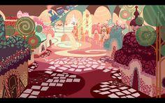 Wreck-It Ralph candyland concept art - Căutare Google