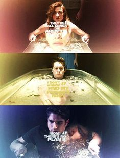 allison argent, stiles stilinski and scott mccall, teen wolf, quotes