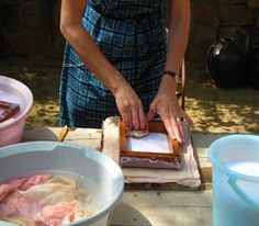 Gill Wilson Workshops Blog about papermaking in India