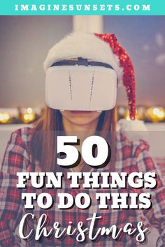 Get your family excited for Christmas with this fun Christmas list. Fun things to do to keep the spirits bright this Christmas. Christmas can be so much fun and so memorable!